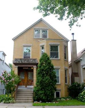 3817 N Bell, Chicago, IL 60618