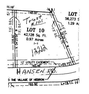 12212 Hansen, Hebron, IL 60034