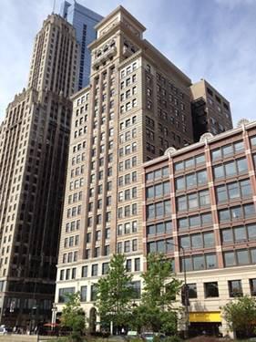 6 N Michigan Unit 801, Chicago, IL 60602 Loop