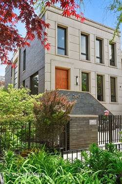 2643 N Magnolia, Chicago, IL 60614 West Lincoln Park