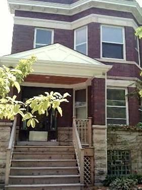 1845 W Belle Plaine Unit 2, Chicago, IL 60613 North Center