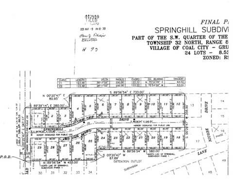 22 Springhill, Coal City, IL 60416