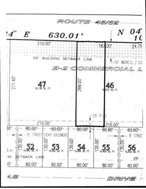 Lot 46 State Route 45, Bourbonnais, IL 60914