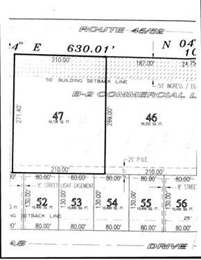 Lot 47 Route 45-52, Bourbonnais, IL 60914