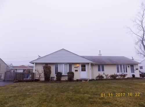 4127 W 89th, Hometown, IL 60456