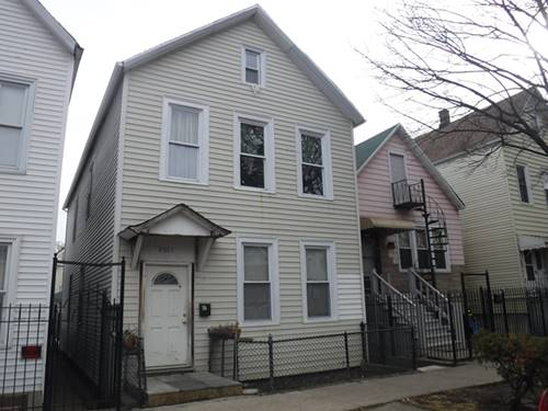 4827 S Honore, Chicago, IL 60609