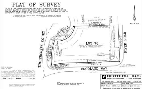 LOT 76 S Timbercreek, Shorewood, IL 60431
