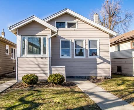 5534 W Warwick, Chicago, IL 60641