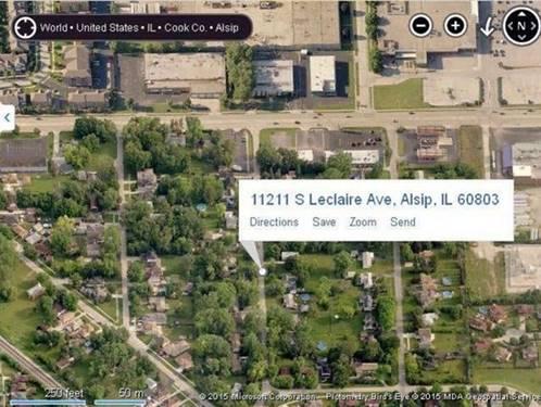 11211 S Leclaire, Alsip, IL 60803