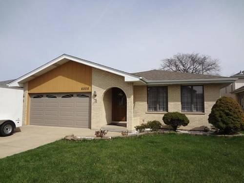 6208 W 93rd, Oak Lawn, IL 60453