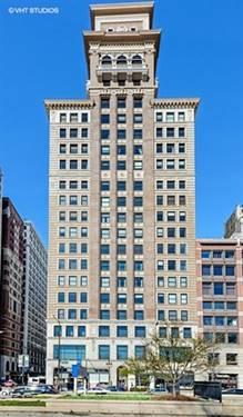 6 N Michigan Unit 1107, Chicago, IL 60602 Loop