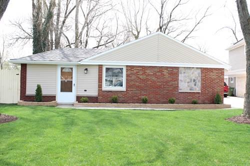 5125 W 100th, Oak Lawn, IL 60453