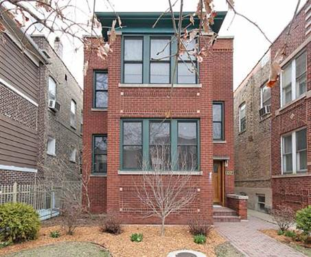 4307 N Wolcott Unit 1, Chicago, IL 60613 North Center