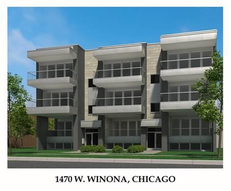 1470 W Winona Unit 103, Chicago, IL 60640 Andersonville