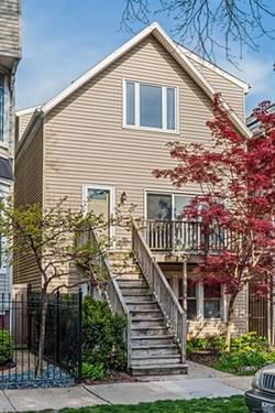 3249 N Leavitt, Chicago, IL 60618 Roscoe Village