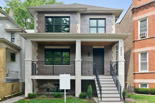 3922 N Bell, Chicago, IL 60618 North Center
