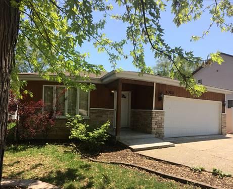 4023 N Grant, Westmont, IL 60559
