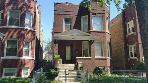 4820 W Shakespeare, Chicago, IL 60639