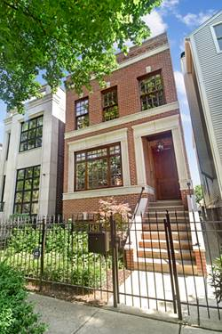 1431 W Wrightwood, Chicago, IL 60614 West Lincoln Park