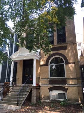 3849 N Hermitage Unit 2, Chicago, IL 60613 Lakeview