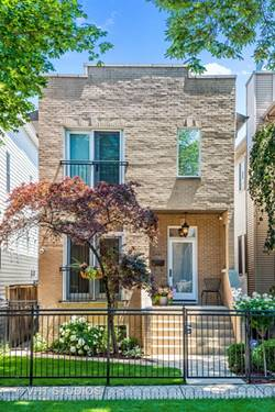 3441 N Claremont, Chicago, IL 60618 Roscoe Village