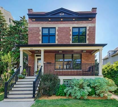 4524 N Claremont, Chicago, IL 60625