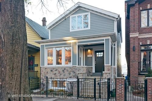 3138 N Oakley, Chicago, IL 60618 West Lakeview