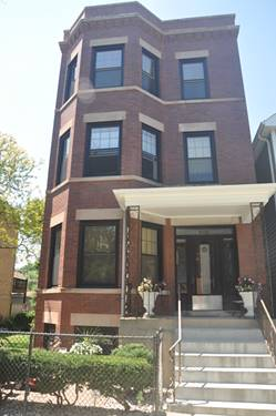 3332 N Bell Unit 2, Chicago, IL 60618 Roscoe Village