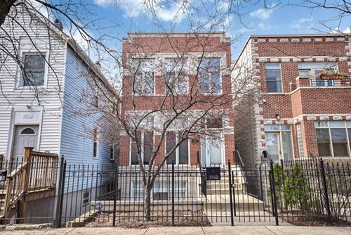 1842 N Marshfield, Chicago, IL 60622 Bucktown
