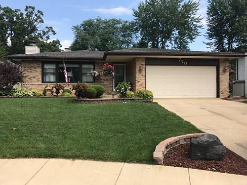 770 Cedar, Bartlett, IL 60103