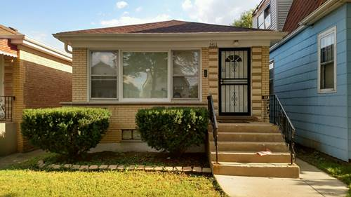 5411 W Parker, Chicago, IL 60639