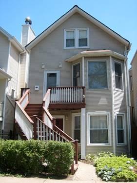 3447 N Seeley Unit 1, Chicago, IL 60618 Roscoe Village