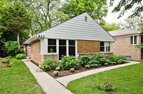 820 Brown, Evanston, IL 60202