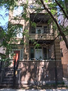 1914 W Crystal Unit 2F, Chicago, IL 60622 Wicker Park
