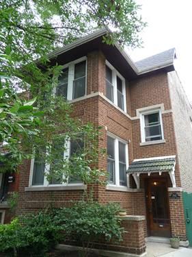 3542 N Claremont Unit 2, Chicago, IL 60618 Roscoe Village