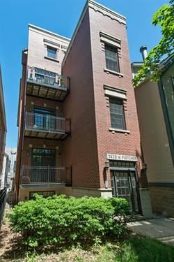 1420 W Fletcher Unit 3, Chicago, IL 60657 Lakeview