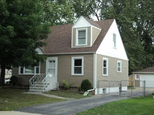 5420 W Alexander, Oak Lawn, IL 60453