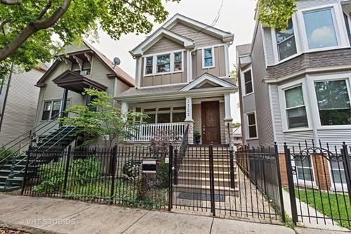 3322 N Leavitt, Chicago, IL 60618 Roscoe Village