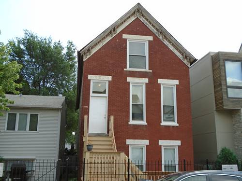 2621 W Attrill, Chicago, IL 60647 Logan Square