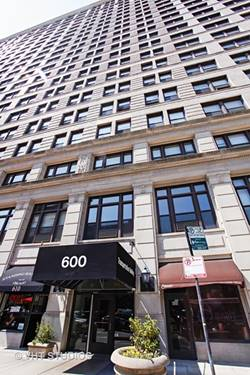 600 S Dearborn Unit 1810, Chicago, IL 60605 South Loop
