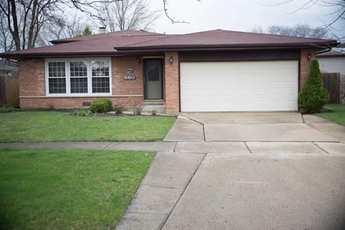 660 Bryn Mawr, Bartlett, IL 60103