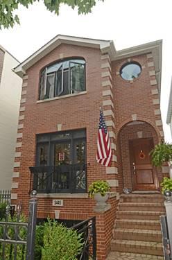 3445 N Claremont, Chicago, IL 60618 Roscoe Village