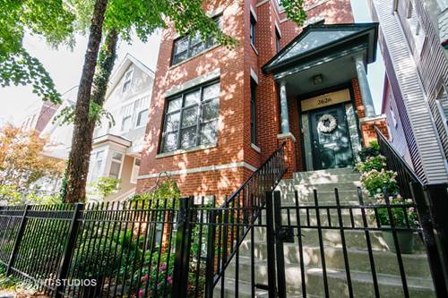 2626 N Bosworth, Chicago, IL 60614 West Lincoln Park