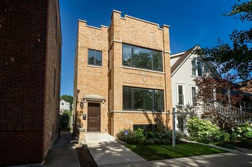 3306 N Bell, Chicago, IL 60618 Roscoe Village