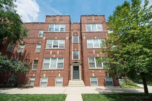 3104 W Belle Plaine Unit 3, Chicago, IL 60618