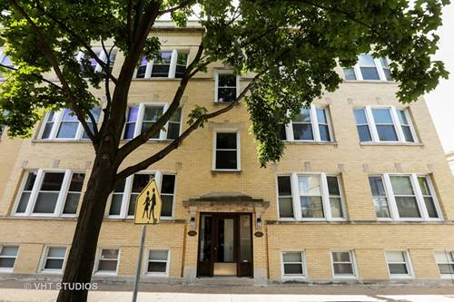 4110 N Wolcott Unit 3, Chicago, IL 60613 North Center