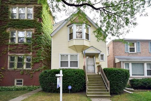 5504 N Paulina, Chicago, IL 60640 Andersonville