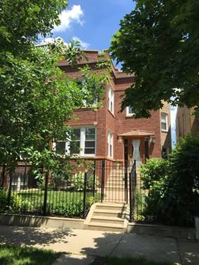 4955 N Monticello Unit 1, Chicago, IL 60625