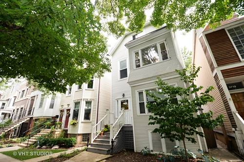3723 N Marshfield, Chicago, IL 60613 Lakeview