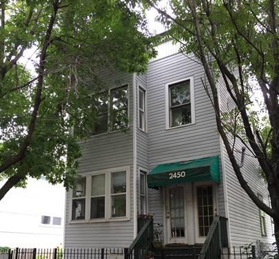 2450 W Cortland, Chicago, IL 60647